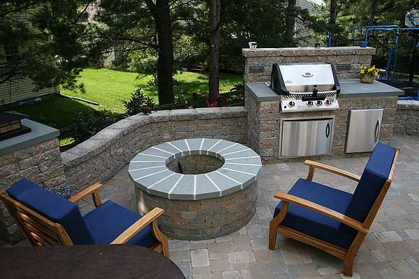 Lawn service near me garden statues in ri outdoor for Outdoor kitchen builders near me
