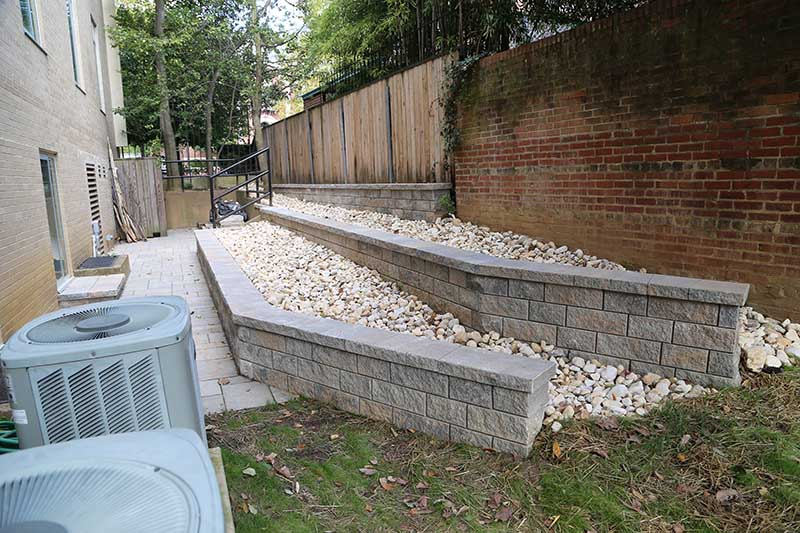 Chevy Chase MD French Drains