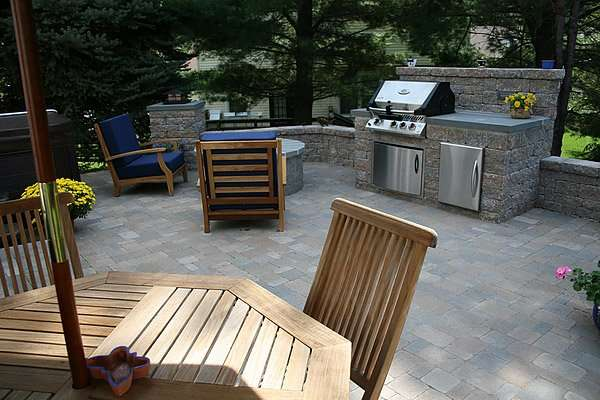 Rockville MD Outdoor Kitchen