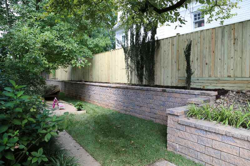 Rockville MD Retaining Wall